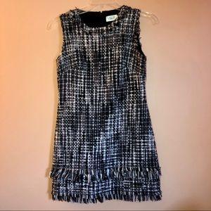 Eliza J - Sleeveless Tweed Dress